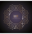 Arabic ornament Design Element vector image