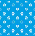 clutch disc pattern seamless blue vector image vector image