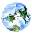 Hand Drawn Earth3 vector image vector image