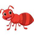 happy ant cartoon vector image vector image