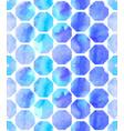 morrocan ornament blue colors vector image vector image