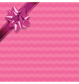 Pink Present Background vector image
