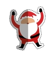 Santa claus xmas cartoon vector image vector image