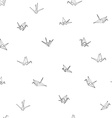 seamless pattern background hand drawn doodle vector image