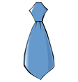 tie clothing accessoire vector image vector image