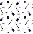 vape shop pattern vector image