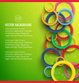 abstract dynamic poster vector image vector image