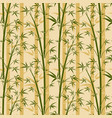 bamboo tree seamless background vector image