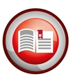 book download related icons image vector image