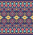 ethnic or tribal seamless pattern fabric design vector image