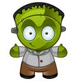 Frankensteins Monster Smile vector image vector image