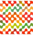 geometric pattern of circles Colored vector image vector image