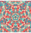 Kaleidoscope geometric colorful pattern Abstract vector image vector image