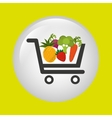 vegetable purchasing design vector image vector image