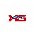 XG letter logo vector image vector image