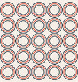 abstract seamless pattern made of symmetric color vector image vector image