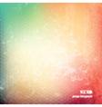 Pastel grunge background vector image vector image