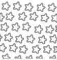 stars icons background vector image vector image