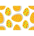 Easter pattern Eggs ornament vector image