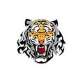 tiger tatoo one vector image