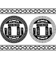 ancient magic stones vector image vector image