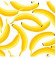 banana pattern vector image vector image