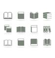 Book icon2 vector image vector image