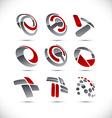 Company signs vector image vector image