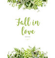 floral design vertical card design tender vector image