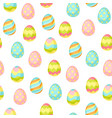Happy easter seamless pattern wiht eggs