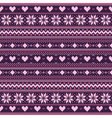 Knitted Ornament vector image