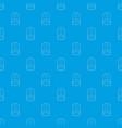 shoulder straps pattern seamless blue vector image