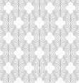 Slim gray vertical Marrakesh grid vector image