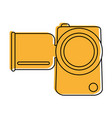 video camera icon image vector image vector image