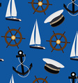 Navy pattern vector image