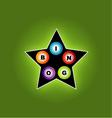 Bingo star vector image vector image