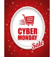 Cyber monday ecommerce design vector image