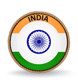 India Seal vector image vector image