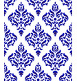 Porcelain damask pattern