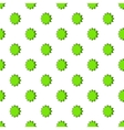 Scalloped star pattern cartoon style vector image vector image