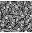 sketchy seamless pattern vector image vector image