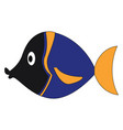 fish or color vector image vector image