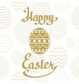Happy Easter background template vector image vector image