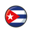 isolated puerto rico flag icon block design vector image