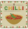 mexican chilli vector image vector image