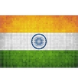 Mosaic Flag of India vector image vector image