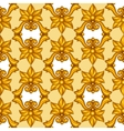 Seamless pattern with baroque ornamental floral vector image vector image