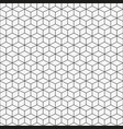 seamless pattern with isometric cubes vector image vector image