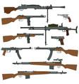 soviet weapons of world war ii vector image vector image
