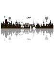 world landmark image vector image vector image